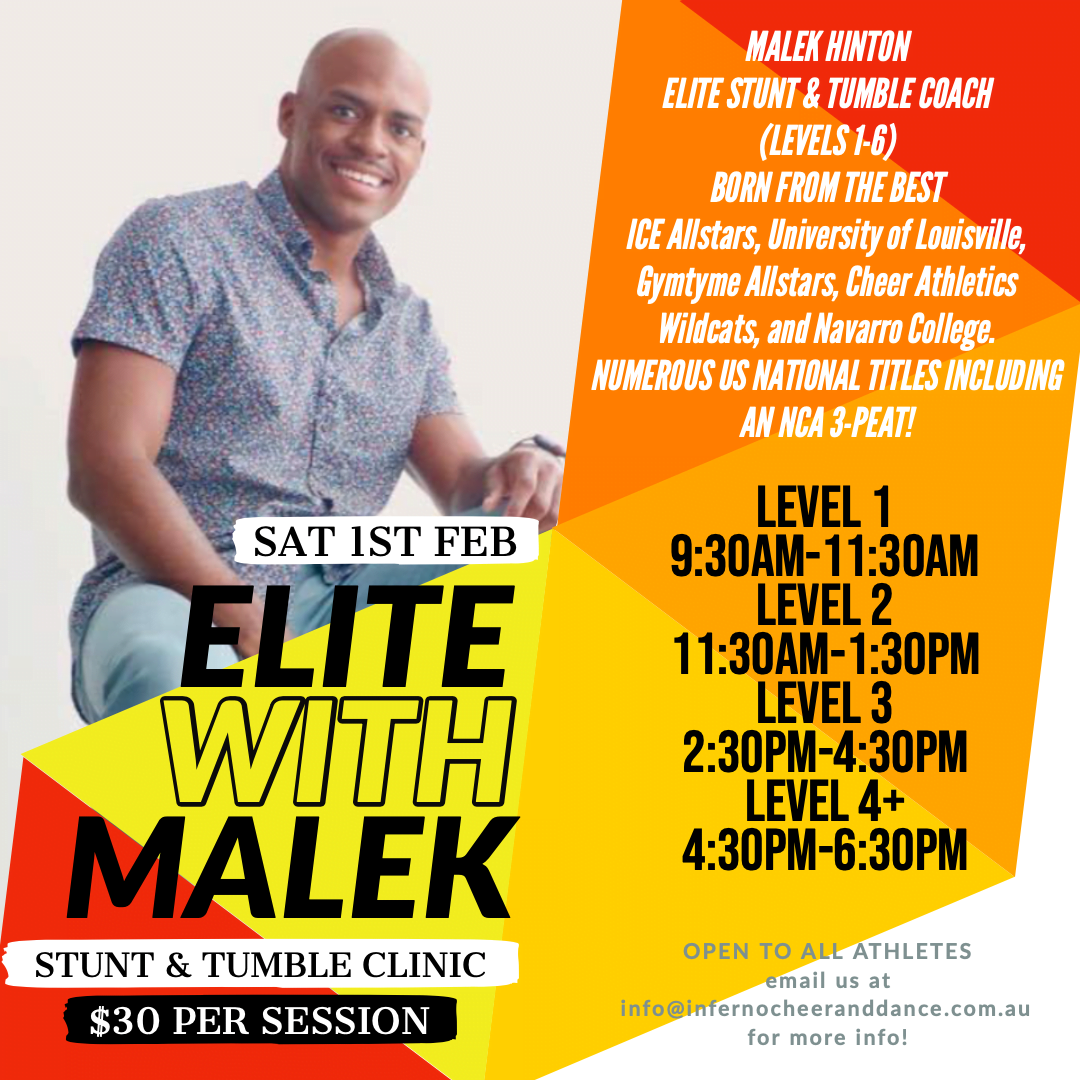 Elite Sessions with Malek Hinton