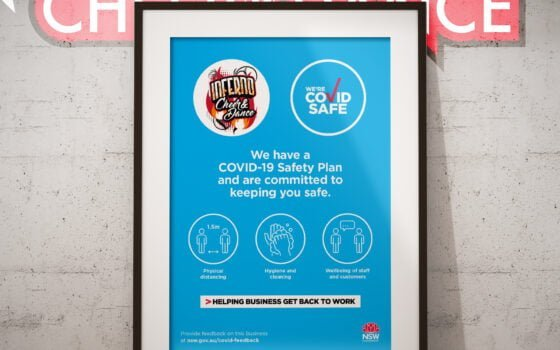 Inferno is certified COVID safe!