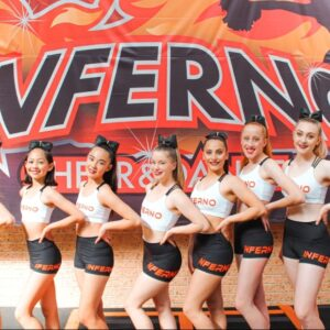 Infernos 2020 Cheer Teams