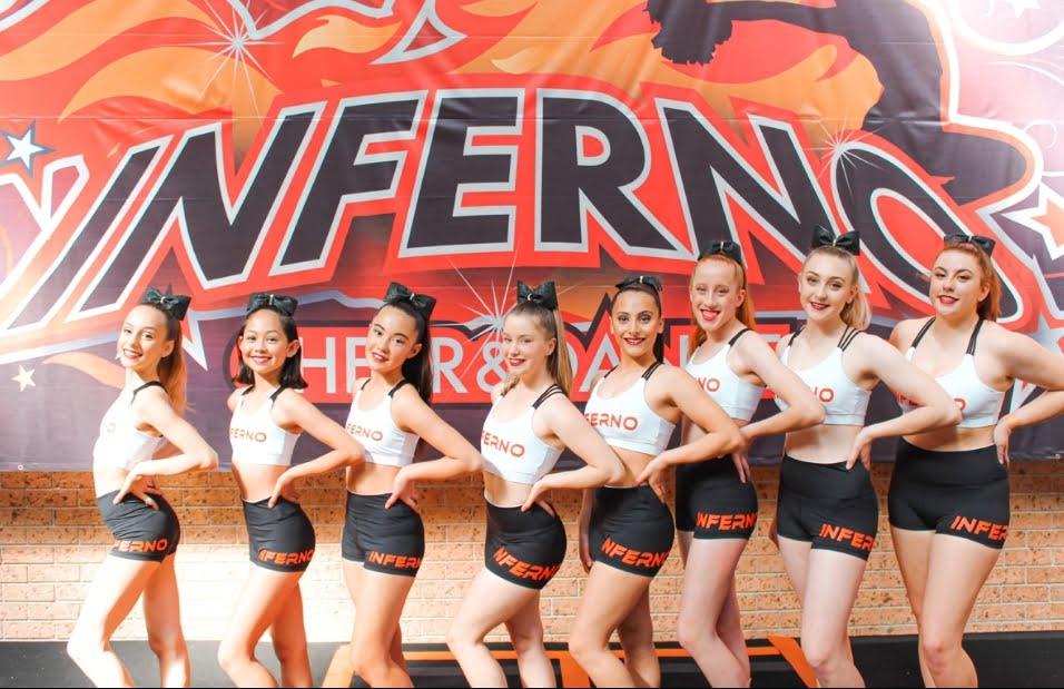 Infernos 2020 Cheer Teams