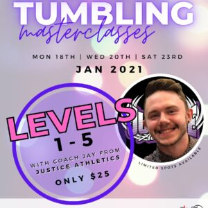 Holiday Tumbling Master Classes